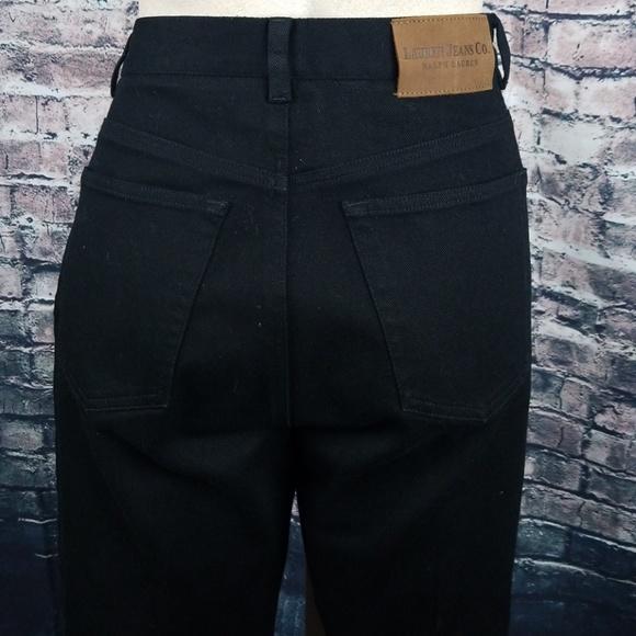 Ralph Lauren Denim - Ralph Lauren Black Straight  Leg Jeans Size 6